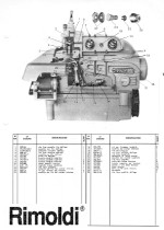 RIMOLDI B27 Parts Book