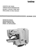 BROTHER LK3-B430 Instruction Manual Is HERE
