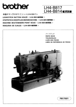 BROTHER LH4-B814 & LH4-B817 Parts Book