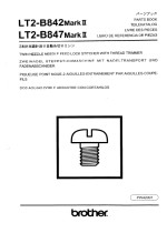 BROTHER LT2-B842 Parts List