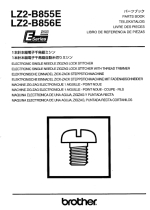 BROTHER LZ2-B855E & LZ2-B856E Parts Book