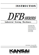 KANSAI SPECIAL DFB1404/1406/1412 Instruction Manual