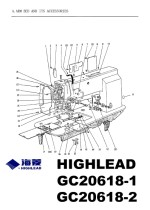 HIGHLEAD GC20618-1 & GC20618-2 Parts Lists