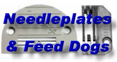 For Needle Plates & Feed Dogs - Please Click Here
