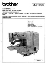 brother lh4 b814 instruction manual
