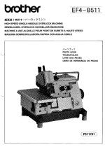 BROTHER EF4-B511 Parts Book