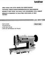 BROTHER LS2-B837 Parts Book