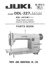 juki 227 sewing machine