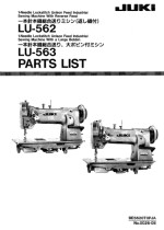 click here for the Juki LU563 Parts Book