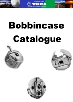 TOWA Bobbincase Catalogue & Comparison List