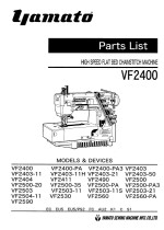 YAMATO VF2400 Parts and Devices